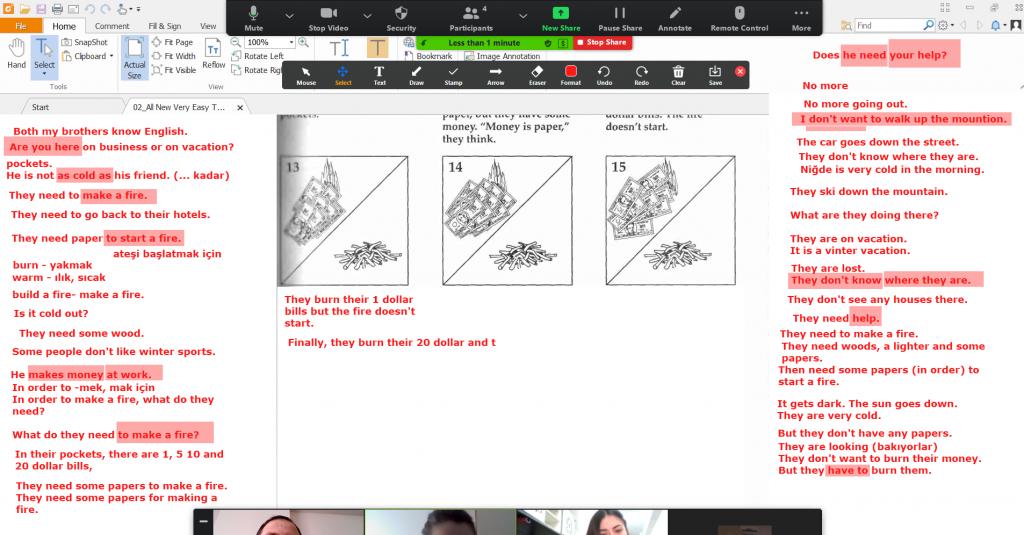 online ingilizce özel ders kartal